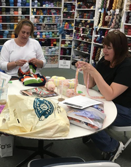 Social Knitting at Sheepy Yarn Shoppe